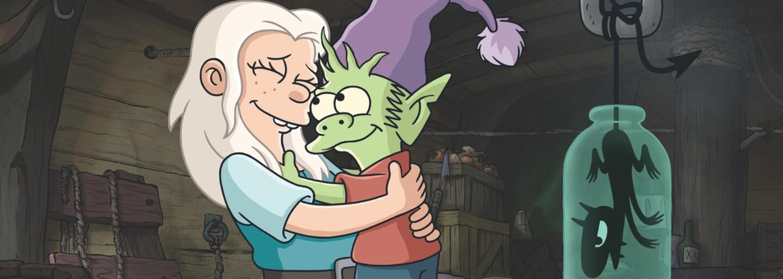Fantasy komédia Disenchantment od tvorcu Futuramy a Simpsonovcov dostane 2. sériu