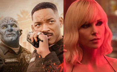 Fantasy kriminálka Bright 2 má scenáristu, Charlize Theron potvrdila Atomic Blonde 2 a Robert Downey Jr. zarába milióny za pár minút