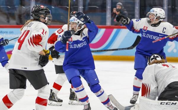 Fantázia! Slovenské hokejistky do 16 rokov získali bronz na Olympijských hrách v Lausanne