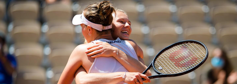 Fantazie! Krejčíková a Siniaková s přehledem ovládly finále čtyřhry na French Open