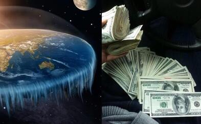 Fanoušek teorie o ploché Zemi nabídl 100 tisíc dolarů tomu, kdo ji vyvrátí. Teď toho lituje