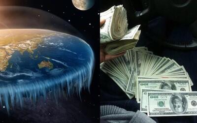 Fanúšik plochej Zeme ponúkol 100-tisíc dolárov, ak niekto dokáže, že Zem nie je plochá. Teraz ponuku ľutuje