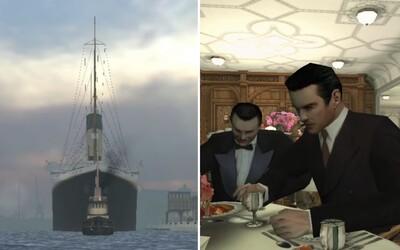 Fanúšik pracoval na móde Titanic do starej českej Mafie 15 rokov. Loď v hre vymodeloval so všetkými detailmi