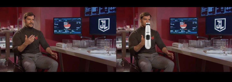 Fanúšik zvládol digitálne odstrániť fúzy Henryho Cavilla kvalitnejšie ako tím vizuálnych efektov pre Justice League