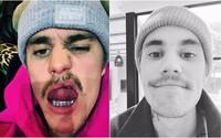 Fanúšikovia Justina Biebera vysmiali za jeho riedke fúzy. Spevák sa im rozhodol odpovedať