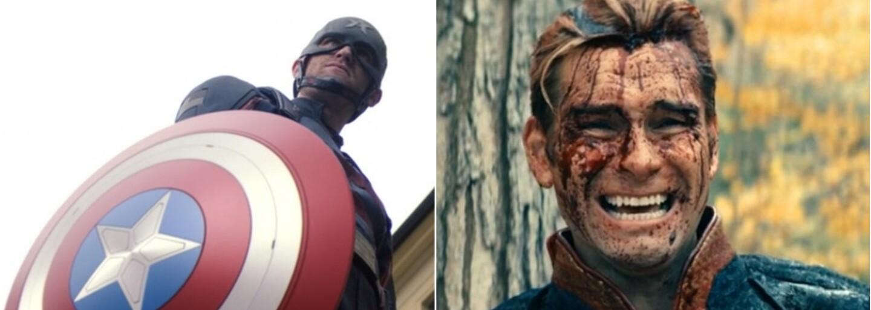 Fanoušci přirovnávají nového Captain Americu k postavě Homelandera ze seriálu The Boys