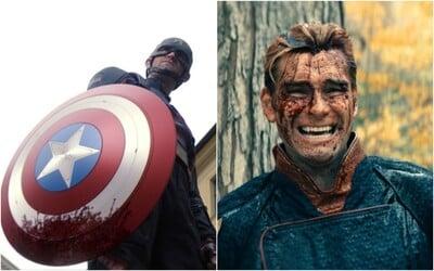 Fanúšikovia prirovnávajú nového Captaina America k postave Homelandera zo seriálu The Boys