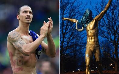 Fanúšikovia sa hnevajú na Ibrahimoviča, vraj zradil svoj domáci klub. Na jeho sochu dali WC dosku a neskôr monument podpálili