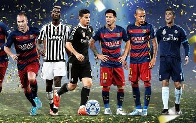 Fanúšikovia si na stránke UEFA zvolili jedenástku roka 2015. Opät sa ukázalo, že popularita prevyšuje výkonnosť