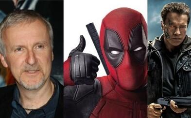 Fanúšikovia Terminátora pozor! Otec série James Cameron vytvorí ďalší diel, o ktorý sa postará režisér Deadpoola!