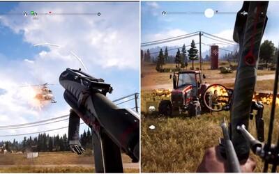 Far Cry 5 na zbrusu nových gameplay záběrech láká na velkolepou zábavu v nádherném otevřeném světě