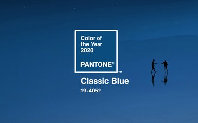 Farba roka 2020 bude klasická modrá. Spoločnosť Pantone tvrdí, že je nadčasová a má priniesť pokoj v duši