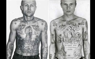 Fascinující vysvětlení vězeňských tetování z nejtvrdších sovětských ústavů. Vězni si zvěčňovali vraždy či znásilnění