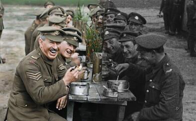 Fascinujúci dokument Petera Jacksona odkrýva doteraz nevidené a dokonale zreštaurované zábery z 1. svetovej vojny