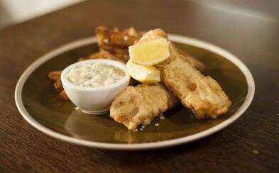 FAST GOOD: Tradiční britská pochoutka fish & chips potěší vaše chuťové pohárky