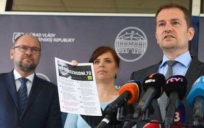 Matovič predstavuje veľký sociálny balíček za 500 miliónov: Budú MHD aj autobusy zadarmo aj trinásty dôchodok.