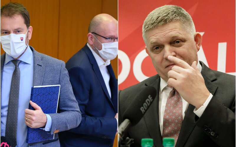 Nový prieskum preferencii: Sulík dobieha Matoviča, Ficov Smer sa výrazne prepadá.