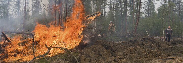 Požiare v Rusku tento rok zvalcovali v počte emisií celý svet. Na Sibíri unikla do atmosféry takmer miliarda ton CO2