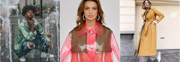 Pláštěnka je plnohodnotným módním doplňkem. Ukážeme ti, jak ji nosit a kombinovat