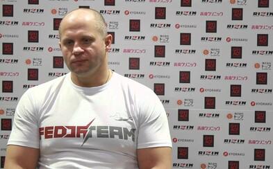 Fedor Emelianenko chce zápasiť v UFC proti šampiónovi v ťažkej váhovej kategórii Fabriciovi Werdumovi