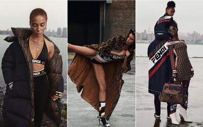 Fendi a Fila představují společnou kolekci, posílají ji rovnou do prodeje