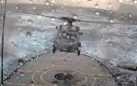 Fenomenálne zvládnuté pristátie pilota helikoptéry v silnej búrke. Mal problém sa vôbec trafiť na heliport