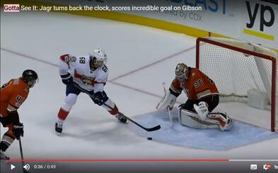 Fenomenální Jaromír Jágr je k nezastavení. Skvělou individuální akcí zařídil výhru Floridy a připsal si 760. gól v NHL
