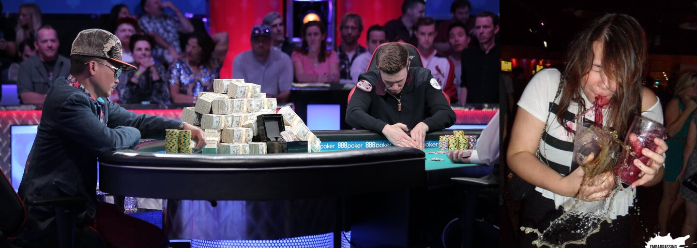 Fenomenální blaf pokerového hráče se zoufalými kartami, kterým soupeře psychicky zničil v přímém přenosu. Získal 8 milionů dolarů a odešel spokojený