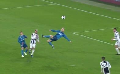 Fenomenálny Cristiano Ronaldo pokoril Juventus dvomi gólmi a zaskvel sa aj parádnymi nožničkami