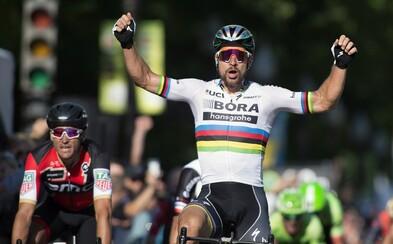 Fenomenálny Peter Sagan triumfoval na prestížnej cyklistickej klasike Paríž - Roubaix