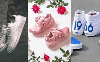 Fenty, limitované spolupráce adidas, nestárnoucí Vans a to nejlepší, co aktuálně koupíš v Česku