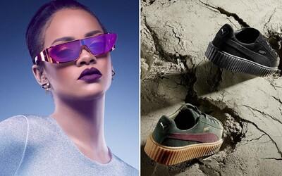 Fenty mánia pokračuje a okrem ďalších Creepers odhaľuje Rihanna aj vlastné okuliare Dior