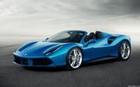 Ferrari 488 Spider: Nejvýkonnější otevřené Ferrari dá stovku za 3 sekundy a střechu dolů za 14
