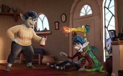 Pixar odhaluje animák Onward a jeho fantasy svět plný elfů, jednorožců, mořských panen a draků