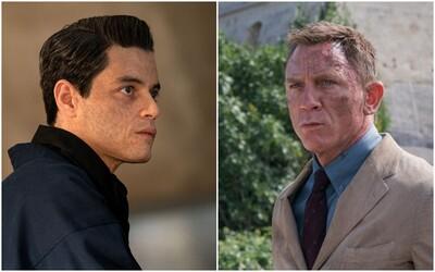 James Bond versus Rami Malek, který si hraje na Boha. Akční trailer oživuje letošní premiéru nejlepšího Bonda od Daniela Craiga