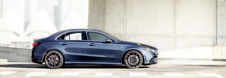 Baby AMG přichází v prostornějším balení. A 35 sedan má slušných 306 koní