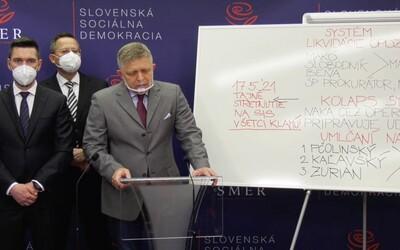 Fico: Vladimír Pčolinský a bývalý šéf NAKA môžu skončiť ako Lučanský