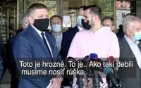 Fico zabudol, že sú zapnuté mikrofóny: Musíme nosiť rúška ako takí debili, povedal. Matoviča označil za premiéra cigánov