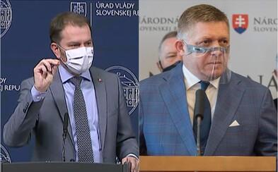 """Ficovi po zatýkaní sudcov """"stíska riťku"""", reaguje Matovič na avizované odvolávanie vlády"""