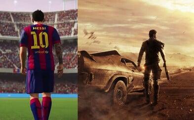 FIFA 16, MGS, Mad Max a mnoho ďalšieho nás opantá v septembri plnom skvelých hier