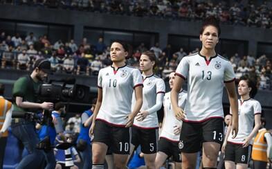 FIFA 16 oznámená, zahráme si aj za ženy a ich národné výbery
