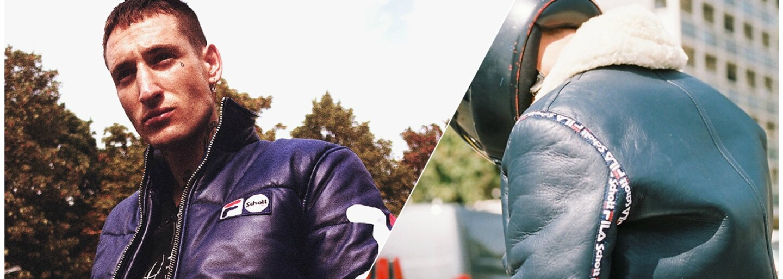 FILA po spolupráci s Fendi sází na kůži a motorkářské bundy