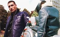 FILA po spolupráci s Fendi vsádza na kožu a motorkárske bundy