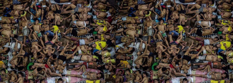 Filipínska väznica, kde sú väzni natlačení horšie ako sardinky. Počet ľudí päťnásobne prekračuje limity a smrť nie je ničím zvláštnym