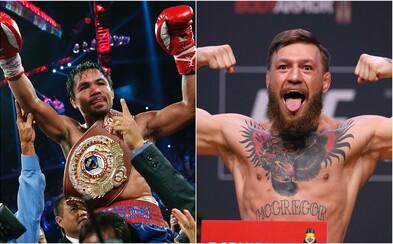 Filipínský boxer a politik Manny Pacquiao vyzval Conora McGregora. Ir tvrdí, že to pro něj bude pocta