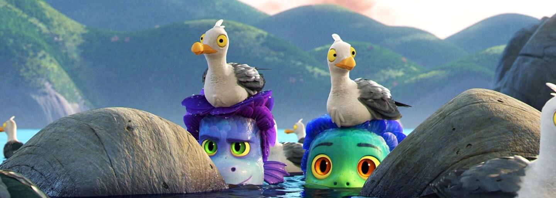 Film Luca je o kouzelných vodních bytostech, které se na souši přemění na lidi. Animák s příchutí italské riviéry tě okouzlí