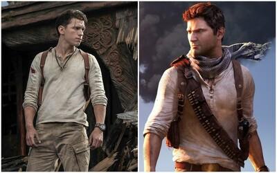 Film Uncharted po 12-ročných prípravách konečne natočili. Tom Holland je Nathan Drake a Mark Wahlberg zase Sully