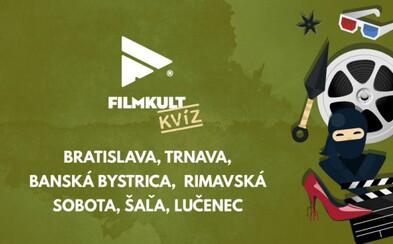 Filmkult kvízy si užiješ už aj v Trnave, Banskej Bystrici a ďalších slovenských mestách! Príď sa zabaviť a vyhrať hodnotné ceny
