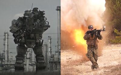 Filmová verze hry Titanfall od talentovaných Slováků nabízí množství akce, výbuchů a nebezpečných robotů