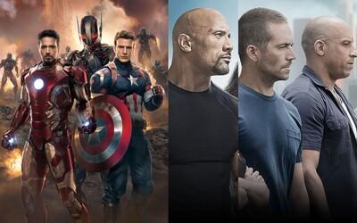 Filmový duben v kinech bude plný Rychlých a zběsilých Avengerů